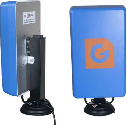 G Spotter Portable True Blue on magnetiv Suction cup base ... Click Here for more details