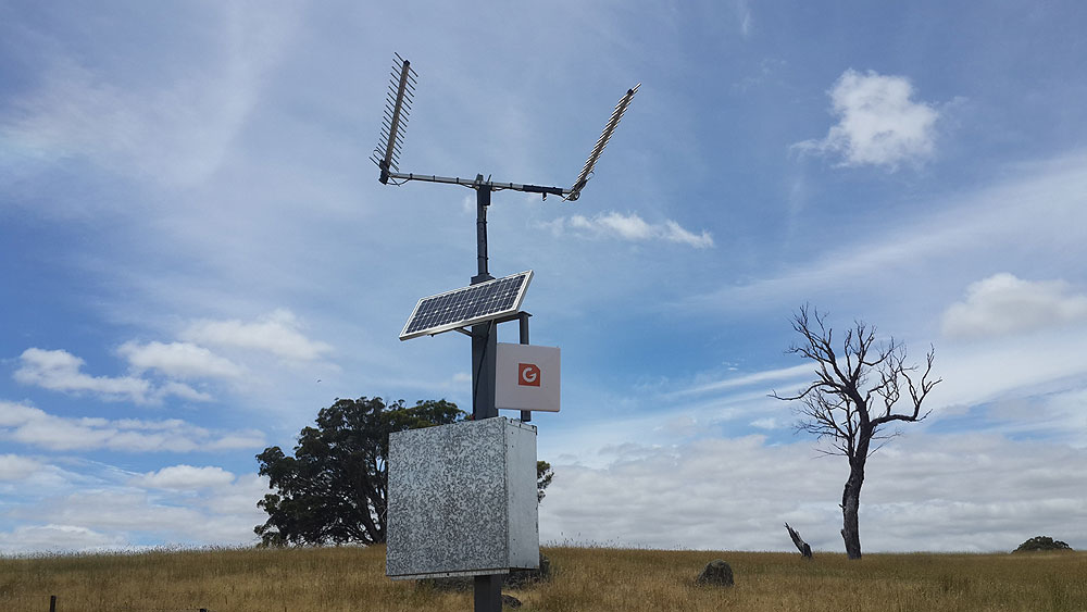 50ks from an Optus Tower Twin Peak Pro G Spotter and Optus Home Gateway with 200Gig of Data  remote WiFi setup
