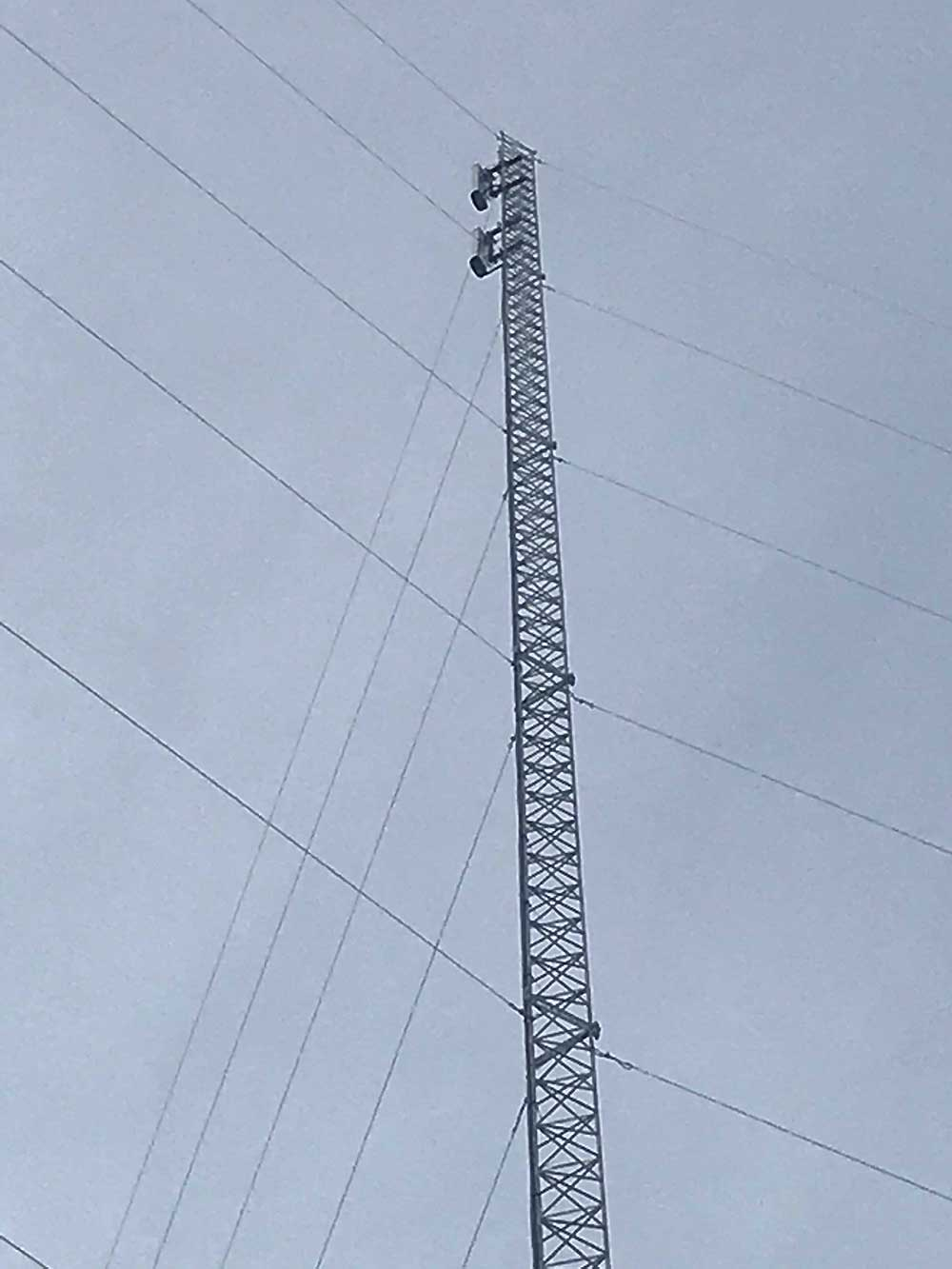 Dave and G Spotter Antennas supplied all the necassary Antenna & Cabling Equipment
