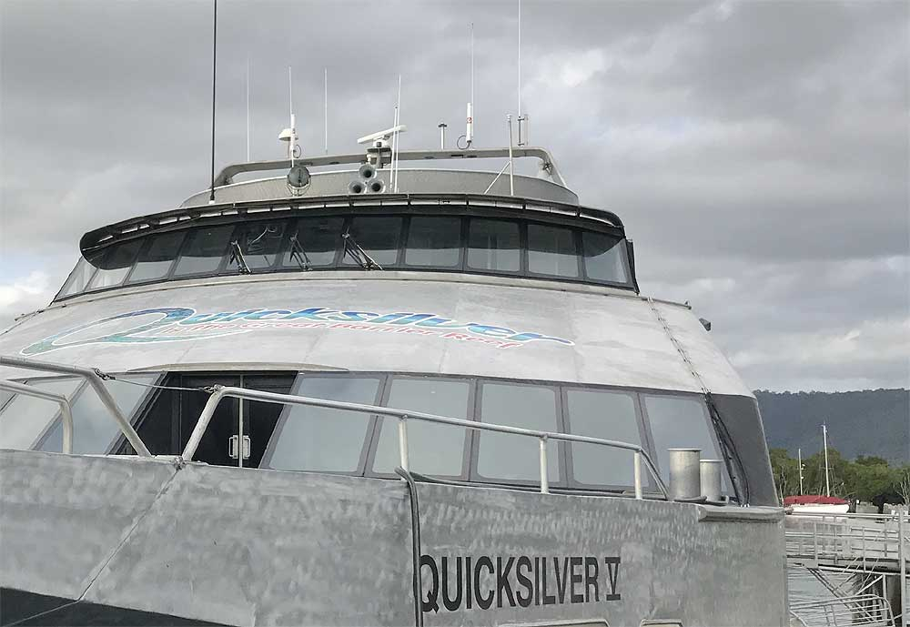 G Spotter antennas on the quicksilver fleet