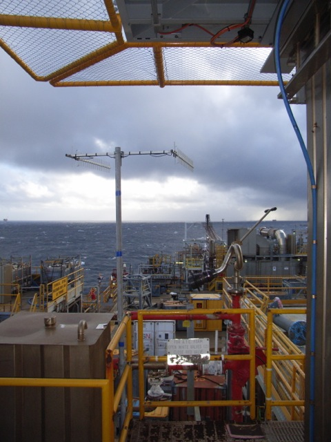 Twin Peak Pro Installed on Exxon Mobil Oil Rig